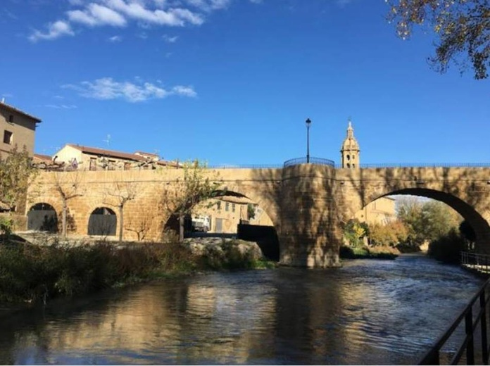 Puente en Cuzcurrita
