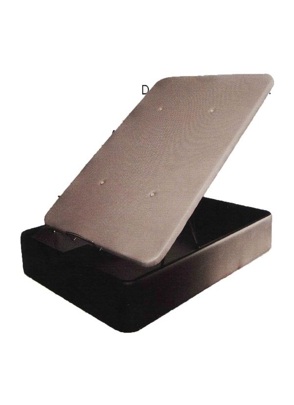 Canape Gran Box, con una altura total de 36cm, y de medida interior de 27cm, este canape es en polipiel con tapa en tela 3D y valvulas de aireación. Disponibilidad en varios colores.