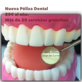 Urgencias dentales sin cita previa.