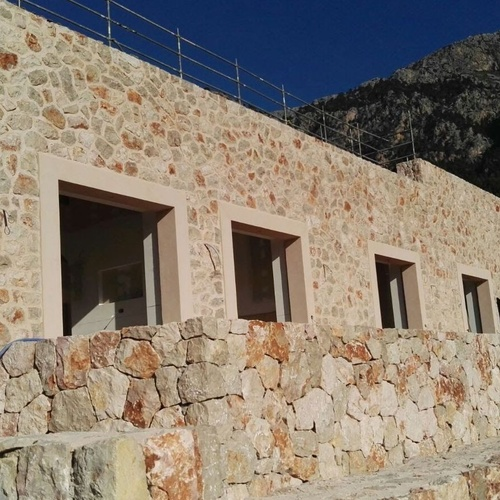 Natural stone for facades in Mallorca | Tot Pedra
