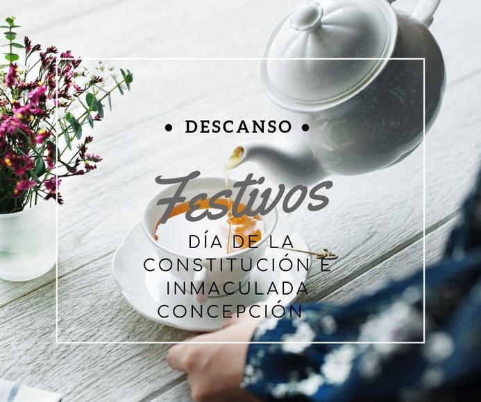 CERRADO: Día de la constitución e Inmaculada Concepción.