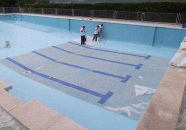 Revestimiento de piscinas