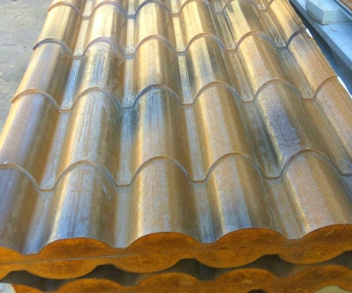 panel imitacion teja: Productos y servicios de KILPA