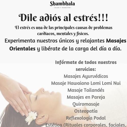 Masaje ayurveda en Alicante | Shambhala Salud y Bienestar