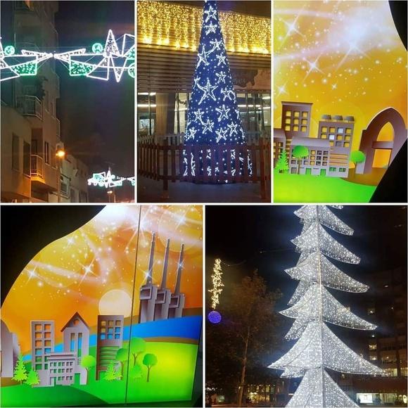 Bon Nadal des de Sant Adrià de Besòs