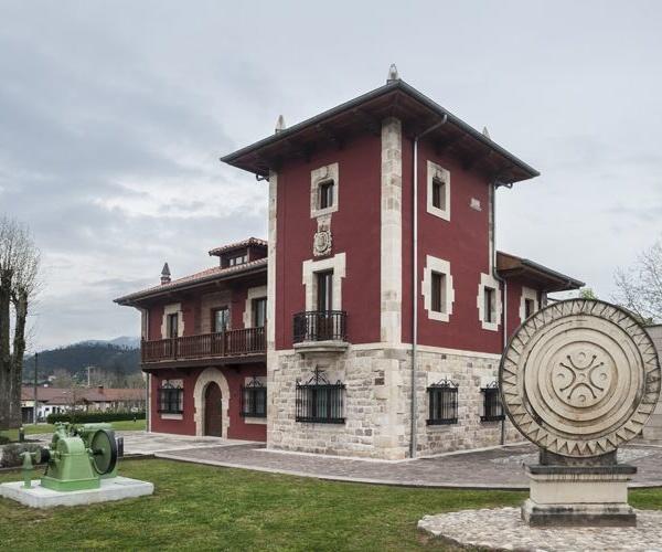 Exterior del museo en Cantabria