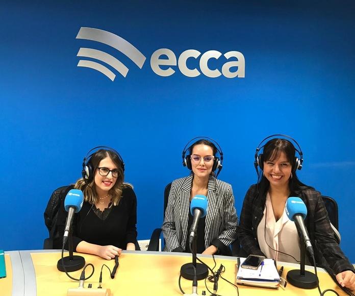 """Entrevista en Radio ECCA al equipo del Punto de Encuentro Familiar """"+Familia"""""""