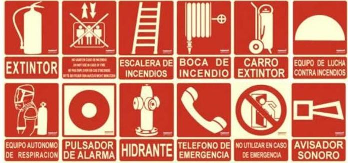 La señalización de emergencia: elemento vital de lucha contra los incendios.