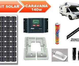 Z992 Kit solar fotovoltaico carabana 2
