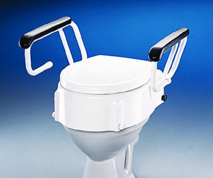 Elevador de WC con brazos