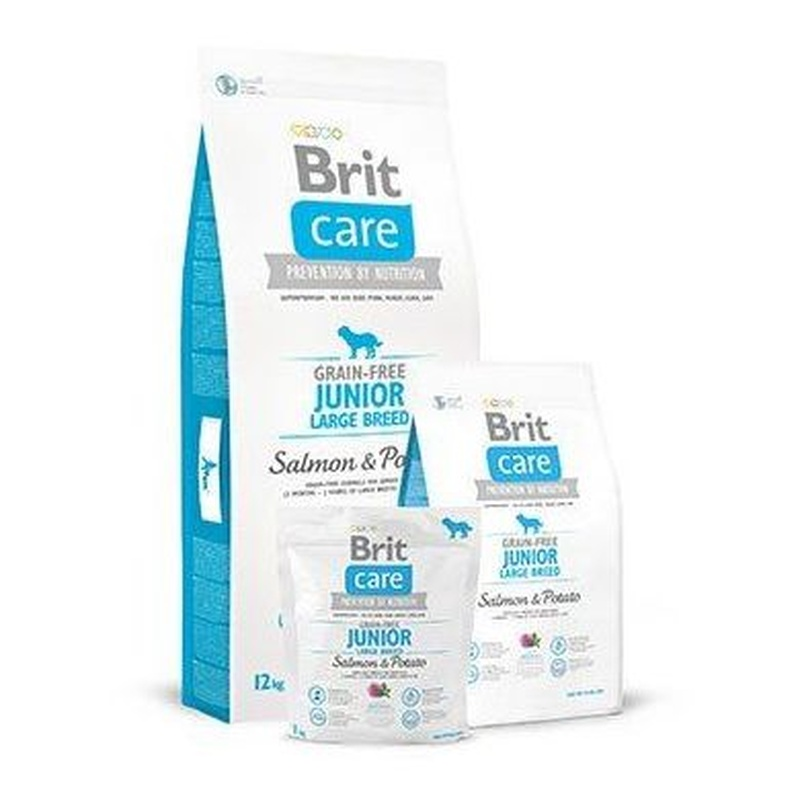 Brit care Grain-Free junior large salmón y patata : Para tu mascota de New Art Can