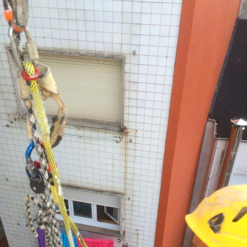 Sistemas homologados de trabajos verticales en Cantabria
