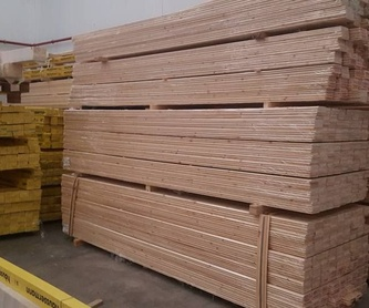 Vigas laminadas: Servicios de Wood World