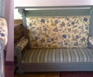 Sofa de flores