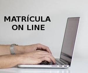 Matrícula on line