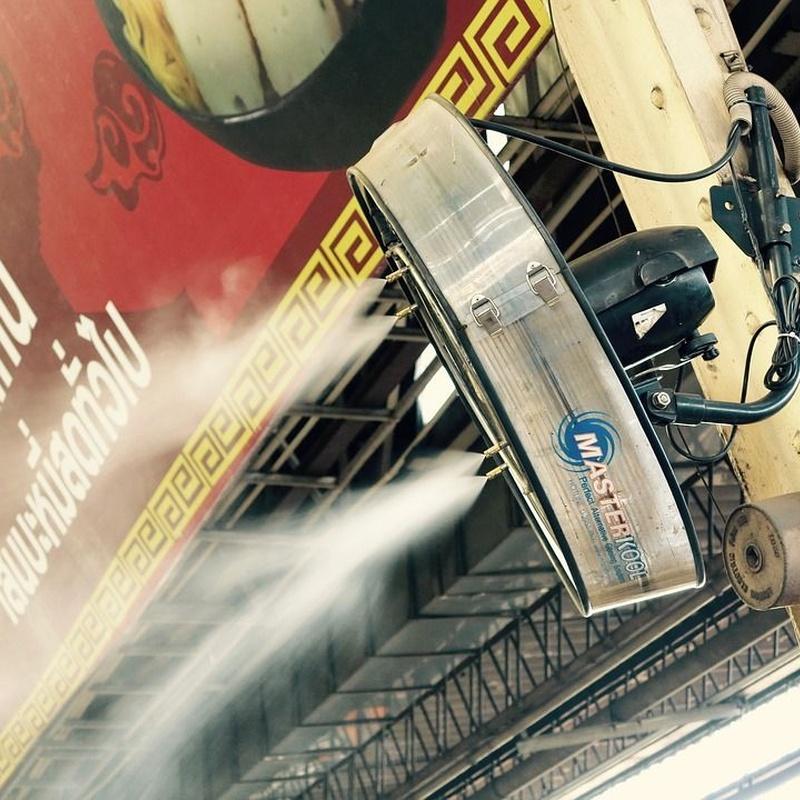 Ventiladores nebulizadores: Catálogo de Jedal Alquileres