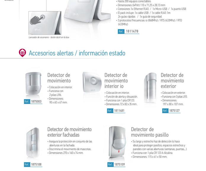 Motorización: Catálogo de Toldos Intecsol