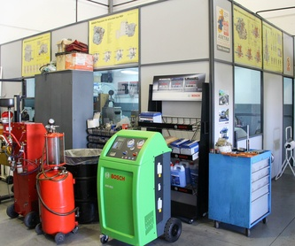 Mecánica del automóvil: Servicios de Inyectrónica Rivas