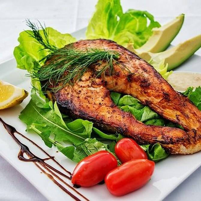 Pon el pescado en tu dieta diaria