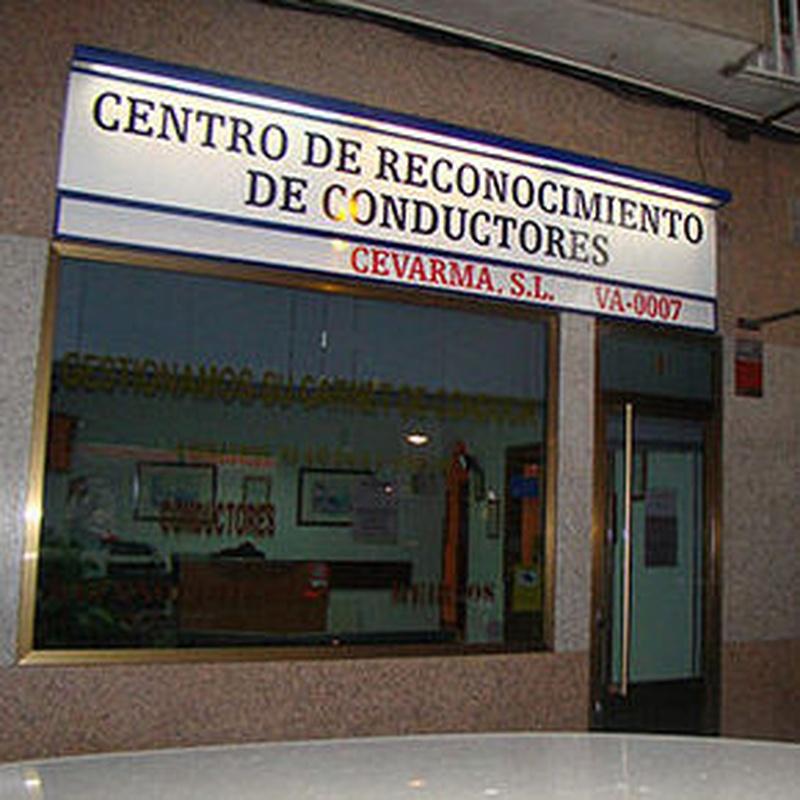 DESCUENTOS: Servicios de Centro de Reconocimiento de conductores Cevarma