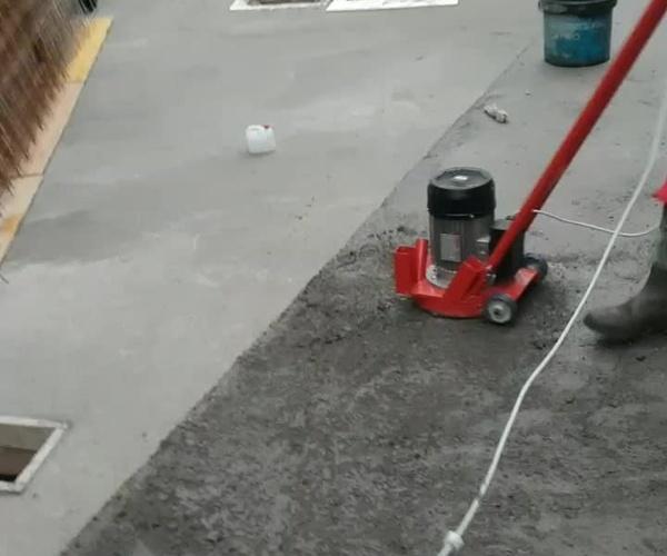 Trabajos abujardado
