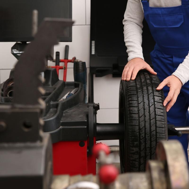 Cambio de Neumáticos: Servicios de T.R.A. Orve Sadauto