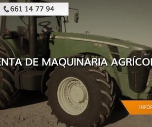 Venta de maquinaria agrícola en Badajoz | Tractores José Carlos Martín