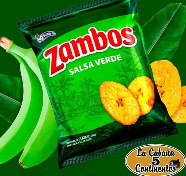 zambos salsa verde: PRODUCTOS de La Cabaña 5 continentes