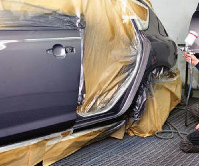 Reparación de chapa y Pintura: Servicios de Talleres Ponte Carreira