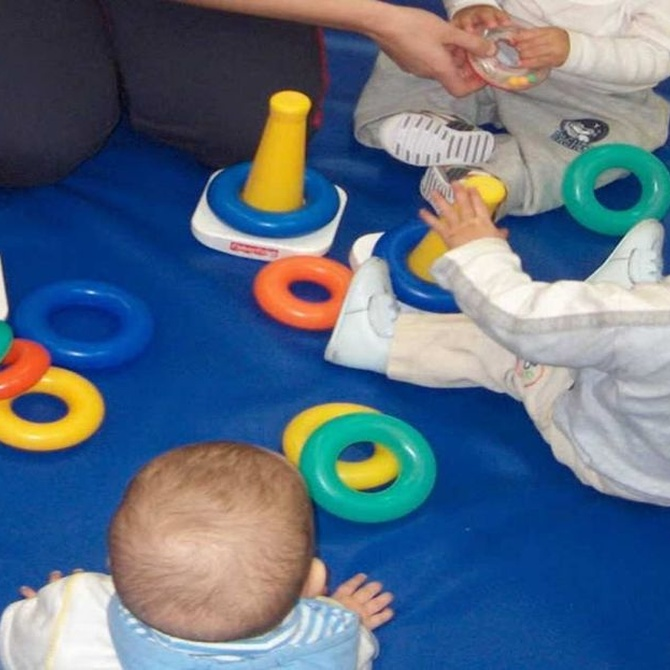 ¿Qué se aprende en los primeros años de guardería?