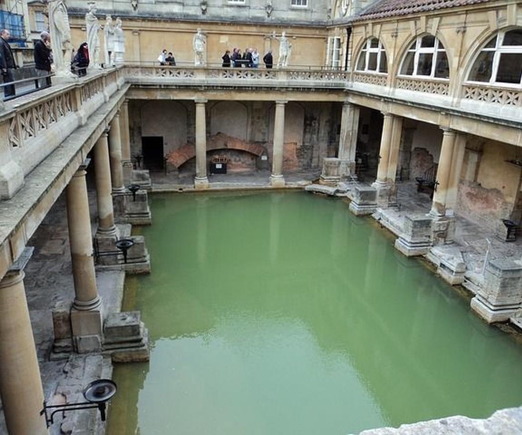 Las piscinas en la antigüedad