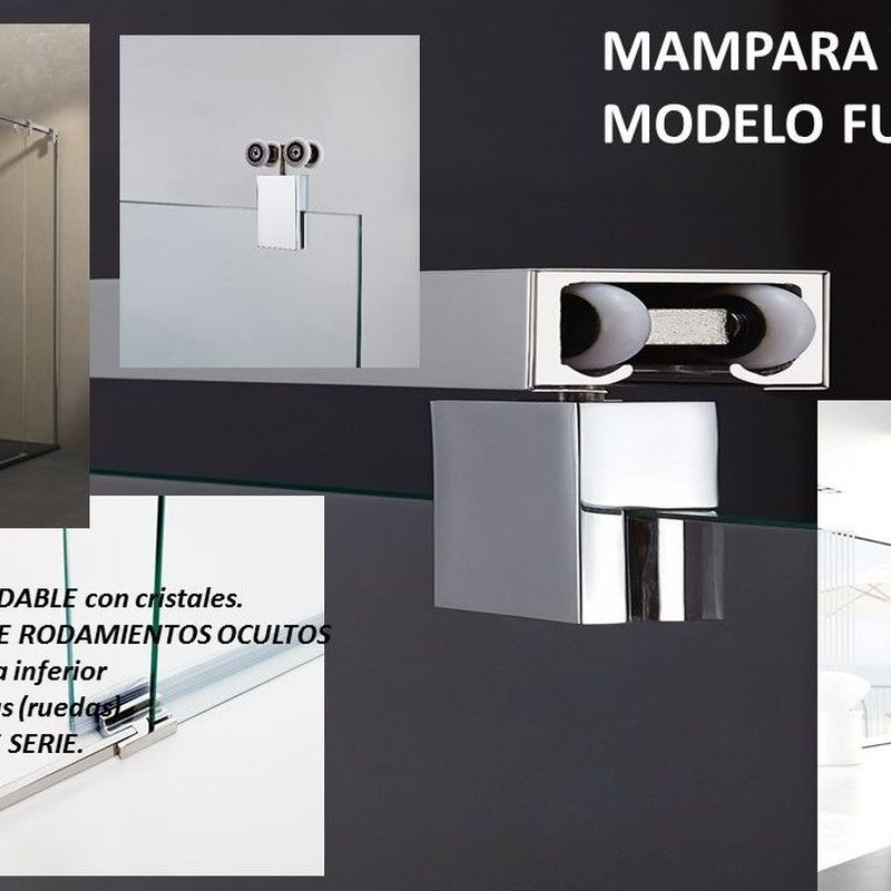 MAMPARA ACERO INOXIDABLE FUTURA