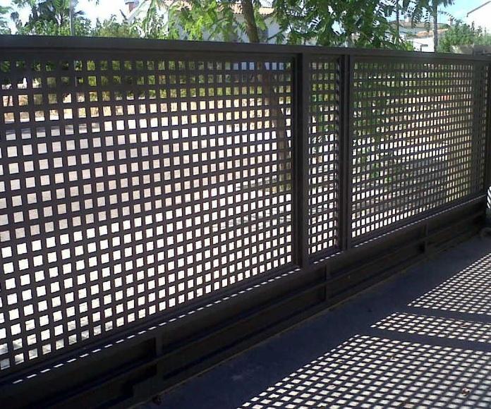 Puertas seccionables a medida: Productos de Juan Carlos López Jimeno