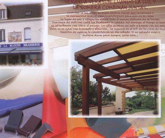Toldos Verticales y Veranda: Catálogo de Toldos Carabela