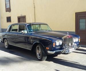 Alquiler de Rolls Silver Shadow 1972 con conductor en Tenerife