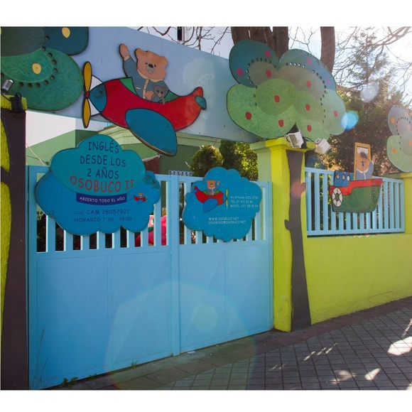 Inglés: Servicios de Escuela Infantil Osobuco