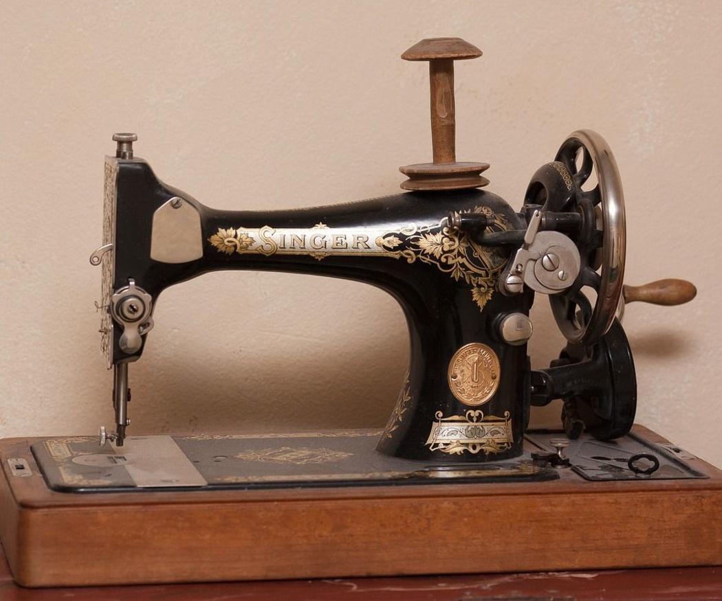 Historia de las máquinas de coser