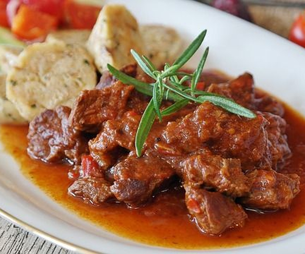 Goulash de ternera, el origen de un plato exquisito