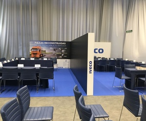 Decoración Evento Iveco