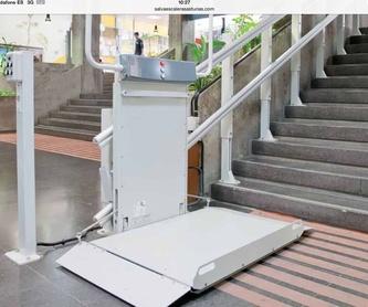 Eliminación de barreras arquitéctonicas: Productos de Sertiber