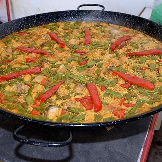 La paella marinera, un plato tradicional y lleno de sabor