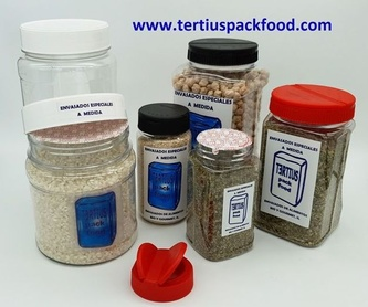 Envasado con bolsa preformada de alimentos en polvo, harinas, etc: NUESTROS  ENVASADOS de Envasados de Alimentos Bio y Gourmet, S.L