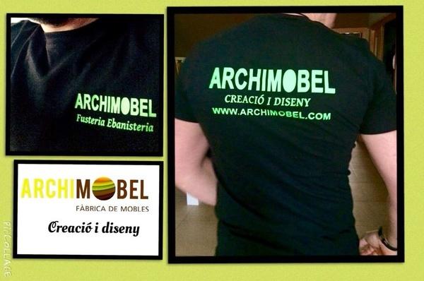 Para celebrar nuestro quinto aniversario,  tendremos camisetas archimobel
