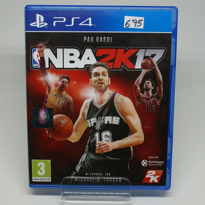 PS4 NBA 2K17: Compra y Venta de Ocasiones La Moneta