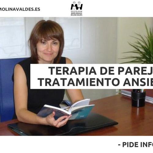 Terapia de adultos en Villena | Mª Ángeles Molina Valdés