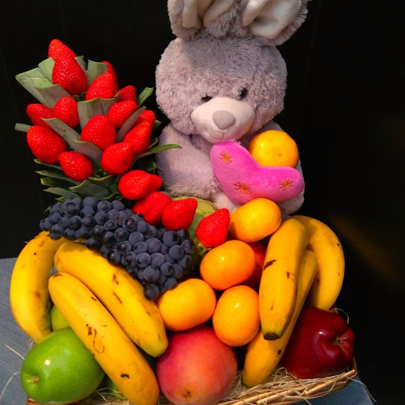 Cesta de frutas de FRUTAS PAULA