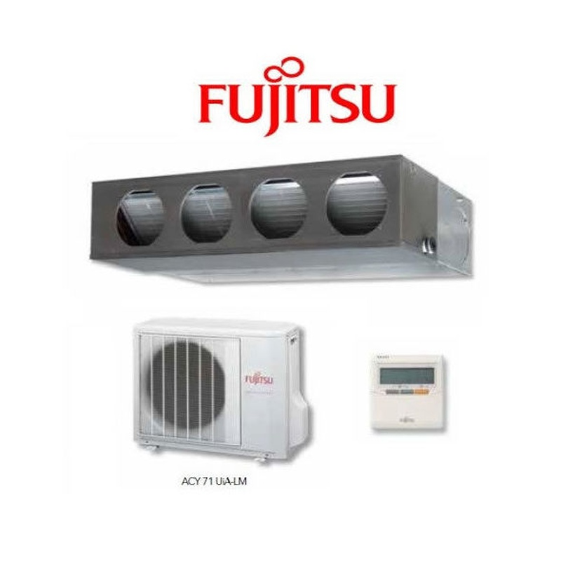 Fujitsu ACY71UIA-LM Conductos: Productos de Cold & Heat Soluciones Energéticas