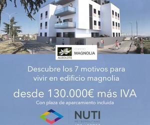 Descubre, desde 130.000€ más Iva con plaza de aparcamiento incluida, la sensación de vivir en edificio magnolia