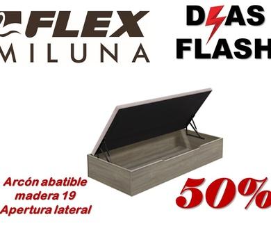 Nueva Campaña días Flash - Miluna Flex octubre 2021