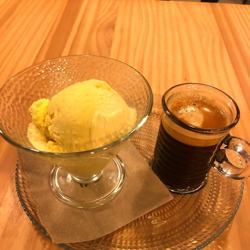 Café con helado vainilla: CARTA y Menús de Alquimia